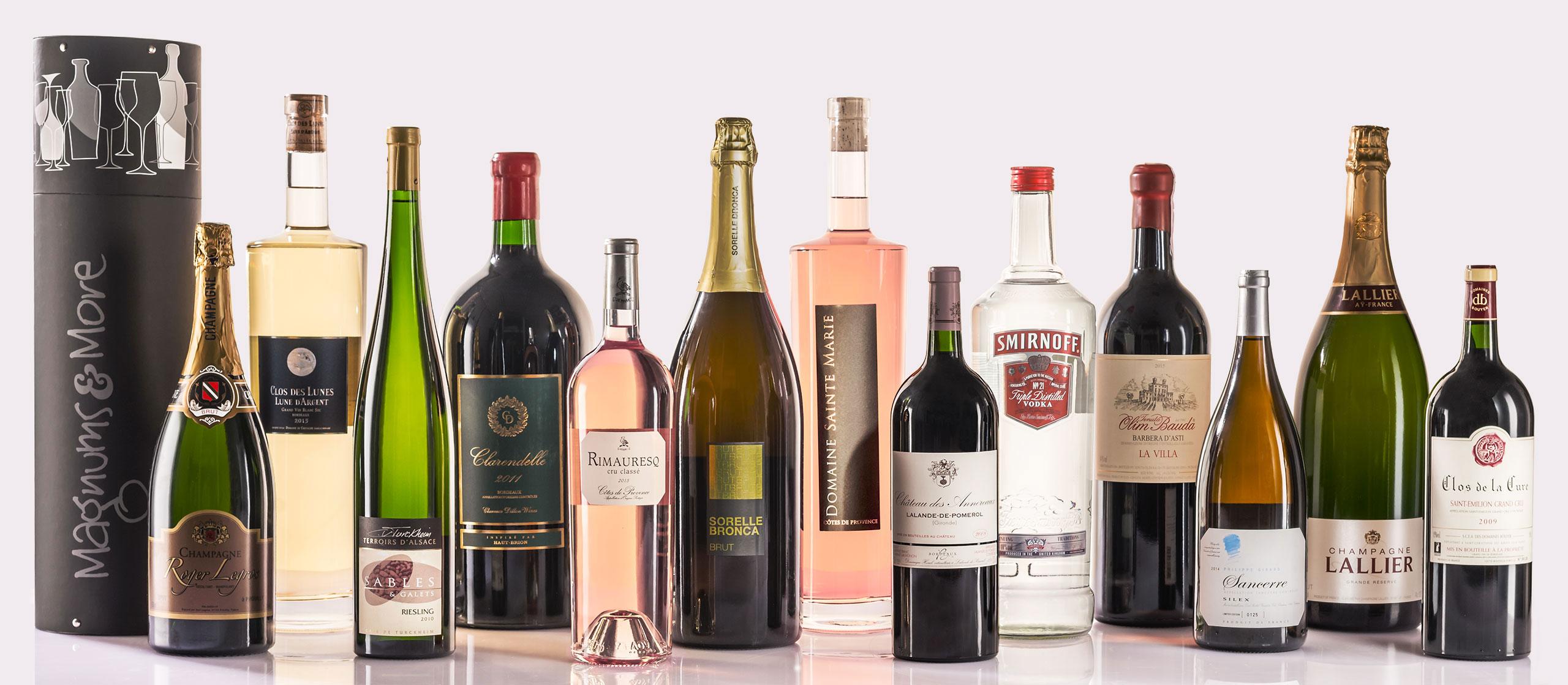 magnum wine bottles