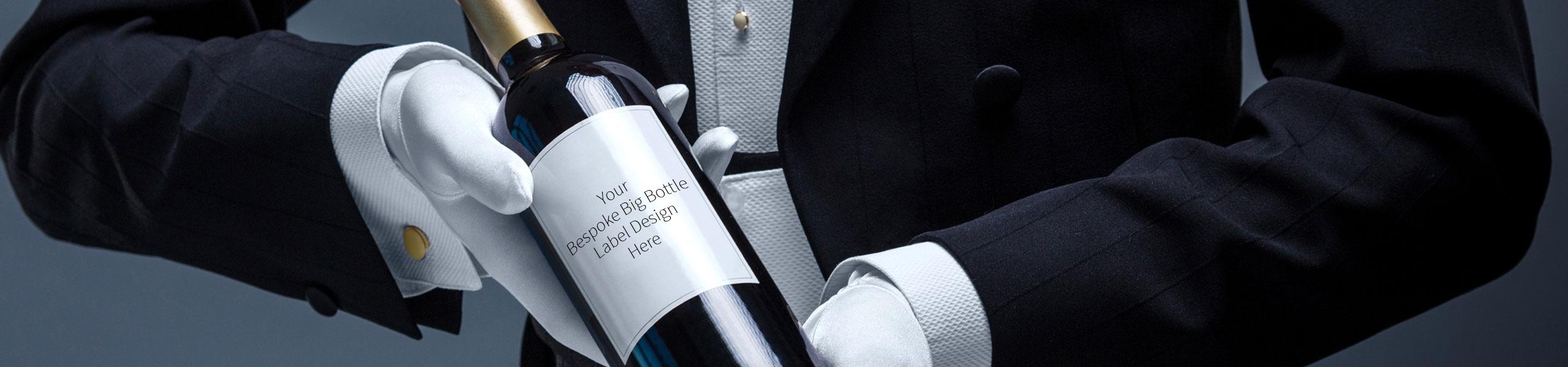Bespoke Big Wine Bottles